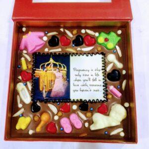 500 gm Customized Chocolate